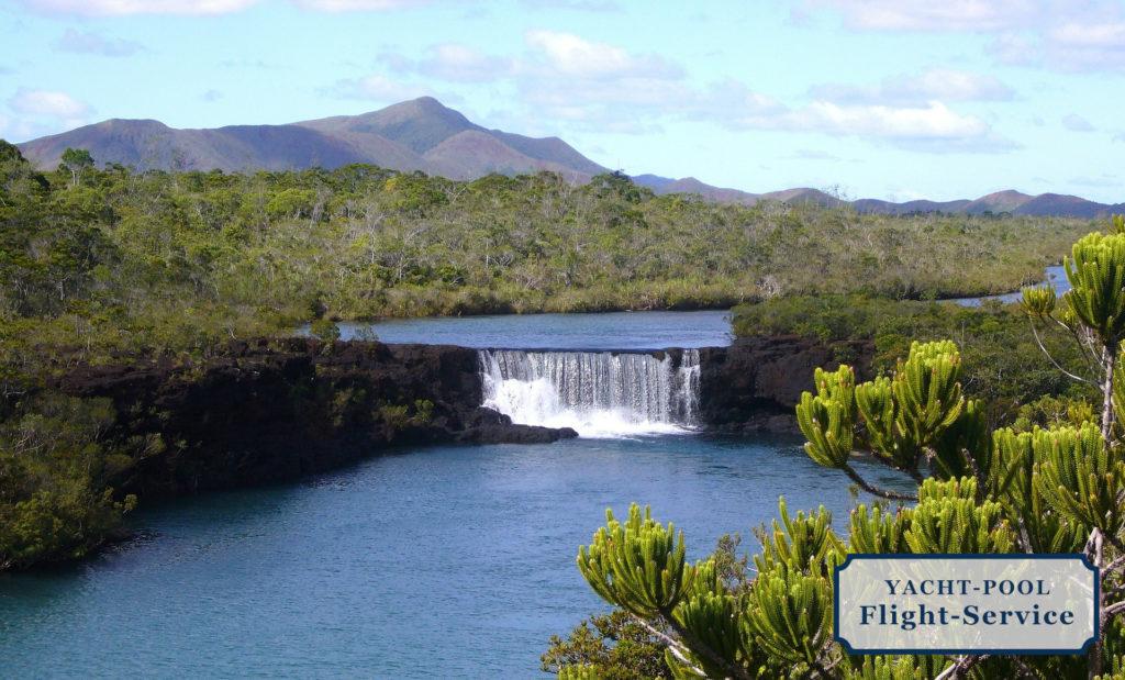 Wasserfall, Neukaledonien, Südsee, Naturschutzgebiet, Fluss, Natur, Üppige Wälder
