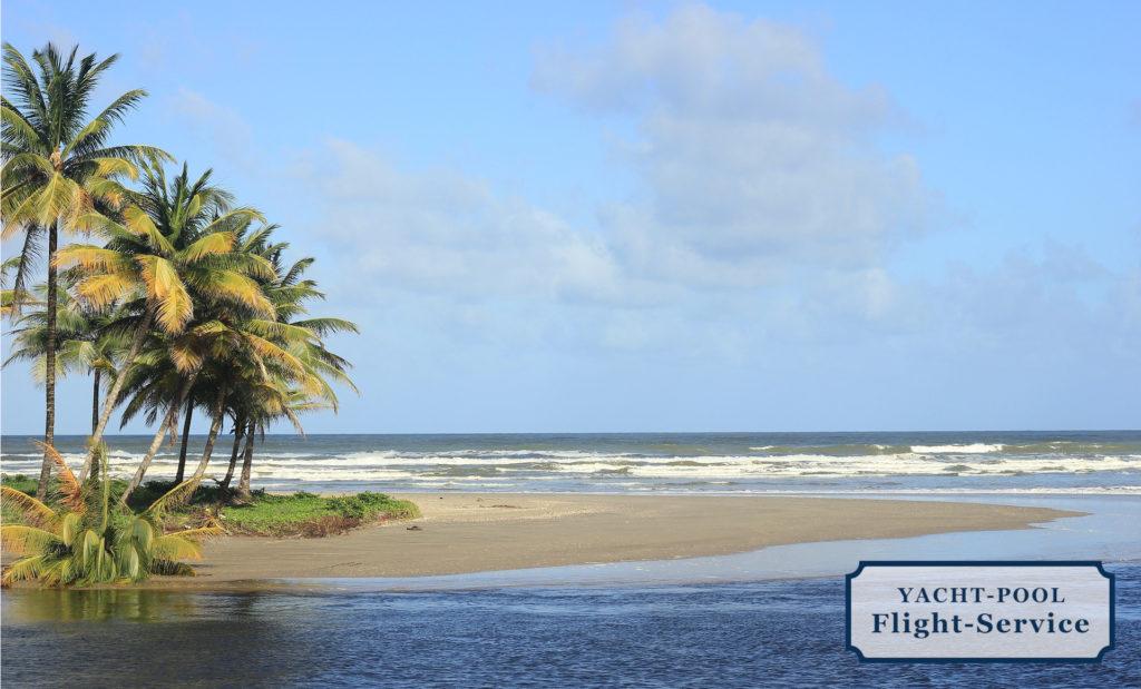 Trinidad und Tobago. Karibik. Strand, Meer, Palmen. Segeln in der Karibik. Urlaub. Sonne genießen